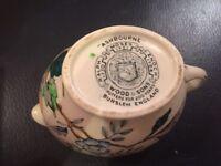 Vintage woods and sons Ashbourne milk jug