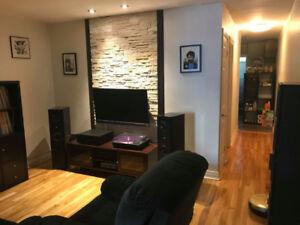 Appartement 4-1/2 rénové près de la rue Masson