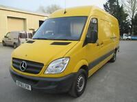 2012 Mercedes-Benz Sprinter 2.1TD 313CDI LWB euro 5 a/c e/w diesel 1 owner 6 spd