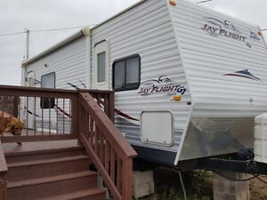 For Sale 2008 Jayco 25' Travel Trailer & 20' Deck