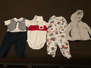 Baby boys clothing (0-3mnths)