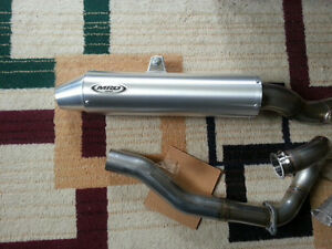 Drz400 MRD exhaust for trade