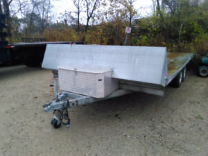 2009 4 place sled trailer