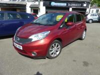 2014 NISSAN NOTE DCI TEKNA ** COLOUR NAVIGATION £0 TAX ** HATCHBACK DIESEL