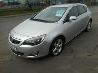 VAUXHALL ASTRA SRI 5 DOOR MANUAL DIESEL 160