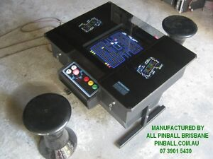 PLAYWELL ARCADE COCKTAIL TABLE CONSOLE MACHINE 2 YR WTY 60 games. Morningside Brisbane South East Preview