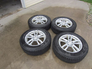 Snow Tires on Alloy Rims