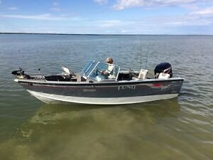2005 Lund Pro Sport Adventure 1700 with 115HP FourStroke