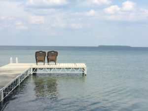 Lake Simcoe Direct Waterfront House for Rent