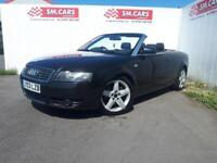 2003 03 AUDI A4 CONVERTIBLE 1.8T SPORT.NICE EXAMPLE.CAMBELT DONE @ 80K.LONG MOT.