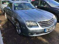 2004 Chrysler Crossfire 2004 3.2 V6 2dr COUPE BLUE FULL LEATHER COUPE Petrol Man