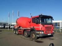 2012 (61) SCANIA P360 8X4 CONCRETE MIXER