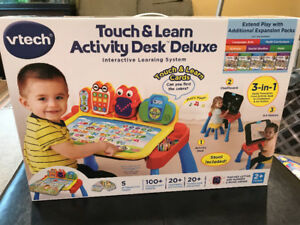 Vetch Touch and Learn Activity Desk Deluxe - New! Never opened!!