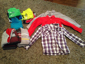Lot of boys clothes (5-7) mostly 6-7