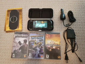 Sony PSP with games