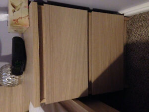 Ikea bed side table unbuilt still in box