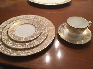 Wedgewood Gold Damask China