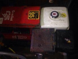 Genset gx 240 8 hp generator