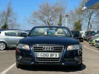 2010 Audi A5 2.0 TFSI SE 2d 208 BHP Convertible Petrol Manual