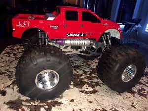 HPI SAVAGE 4.6 GAS POWERED REMOTE CONTROL MONSTER TRUCK Edmonton Edmonton Area image 4