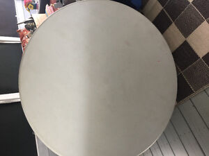 "ROUND FOLDING TABLE  48"" DIAMETER"