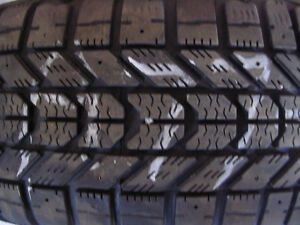 Two Firestone Winter force 195/60R15 Used Tires