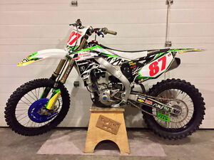 2013 KAWASAKI KX250F LOW HOURS WITH LOTS OF UPGRADES!!!