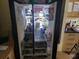 Samsung fridge freezer black American style its really big any questio