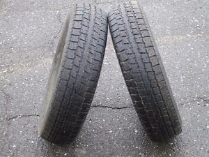 2 pneu d'été P155/80/R13