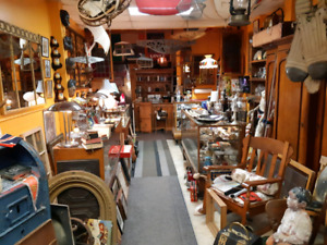 Closing sale antique store everything must go this weekend