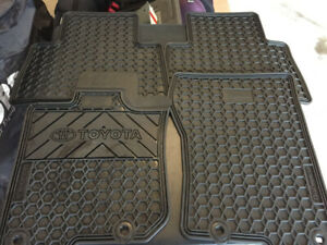 2019 Toyota 4Runner TRD Off Road - OEM All Weather Mats