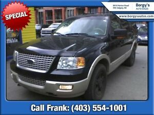 2006 Ford Expedition Eddie Bauer  AWD 7-Passenger w/Leather  Tra