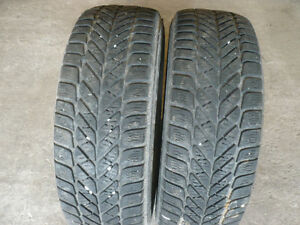 Two 215-60-16  snow tires for sale $70.00
