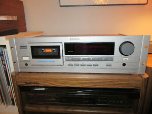 Denon DN-730R Cassette Deck with speed control