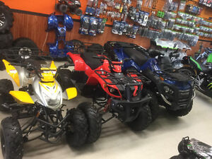 LARGE SELECTION OF FAMILY ATVS AT AFFORDABLE PRICES!