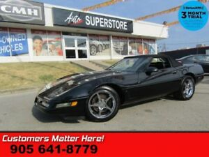 1995 Chevrolet Corvette CONVERTIBLE LEATHER MANUAL