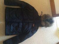 Hollister men's parka coat size S
