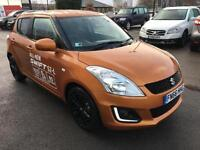 2016 Suzuki Swift SZ-L Petrol orange Manual