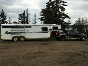4 horse weekender horse trailer must go