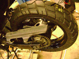 2008 Suzuki V Strom 1000 Frame For Sale $1200 Rear Wheel Tank Sarnia Sarnia Area image 5