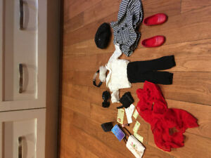 18 inch doll clothes (maplelea doll) $40 great condition