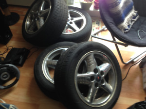 pontiac rims and tires for sale