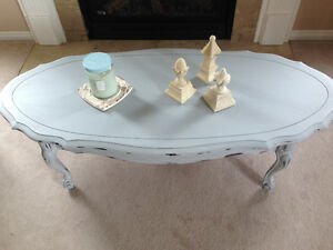 """Paris Grey"" French Provencial Coffee Table"