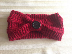 knitted ear warmer