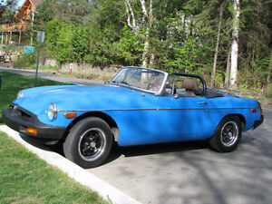 1980 MG MGB tout Cabriolet