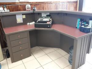 Reception Desk custom built