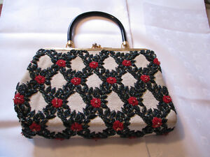 Antique Beaded Ladies Purse