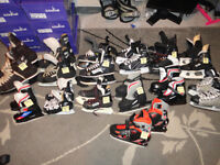 13 Pair Youth Boys & Men's Ice/Hockey Skates