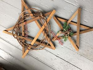 wooden star (étoile en bois)