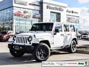 2013 Jeep Wrangler Unlimited Sahara, Only 81,700 KMS, Hard TOP